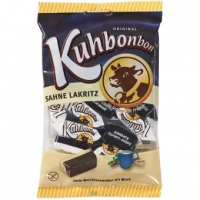 Kuhbonbon Sahne Lakritz  150g